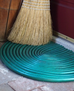 Garden Hose Doormat by Mark Kintzel Design
