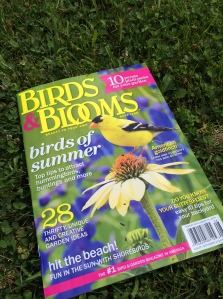 Thank you Birds & Blooms Magazine!